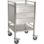 Three Drawer Dressing Trolley | TROSST03