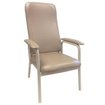 High Back Chair, Mocha