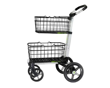 Scout Cart personal shopping cart, suitable for shopping aisles and on footpaths.