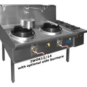 Triple Waterless Gas Wok