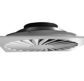 Variable Volume Ceiling Diffuser | XSV - Q and R (Swirl Type)