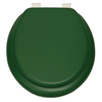 TOILET SEAT CUSH'N SOFT GREEN