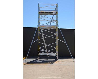 Light duty scaffold | EASYSCAF 6.2M Aluminium Mobile Scaffold