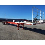 Tri -Flat Top Extendable Trailer