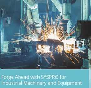 Industrial Machinery & Equipment Manufacturing ERP Software
