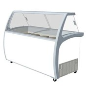 Exquisite Ice Cream Freezer with Canopy 575L 12 Tubs - SD575S2