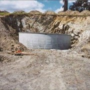 Underground Concrete Water Tanks
