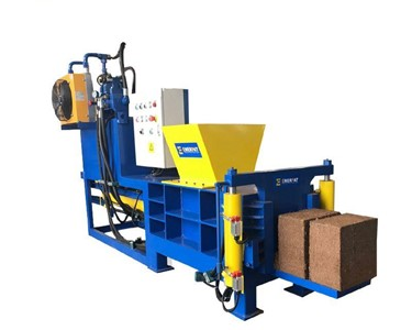 cocopeat briquette machine