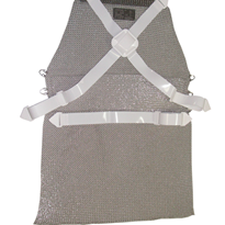 Chain Mesh Safety Apron with Harness | Euroflex