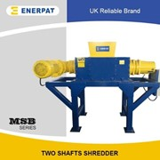 Commercial Two Shaft Shredder for Hard Drive | MSB-22