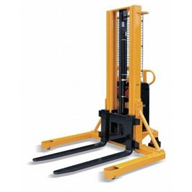 1.5TON SEMI ELECTRIC STRADDLE LEG WALKIE PALLET STACKER LIFTER 1600MM