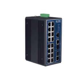 Industrial Ethernet switch | EKI-7656C 16+2G combo