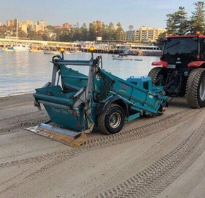 Polyurethane Scrapers Looking After Our Beaches