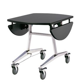 Service Trolley | T-Fold Option - Oval