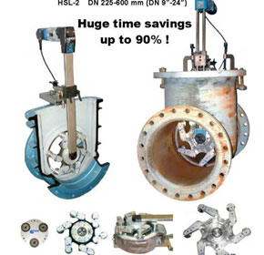 Efco German valve repair and testing equipment