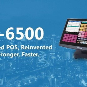 HX-6500 | Capacitive Touch Screen POS Terminal