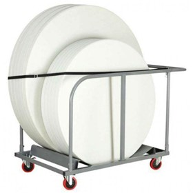 Custom Trolleys | Round Table Moving Trolleys