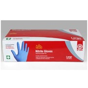 Safety Nitrile Gloves -100 Pack