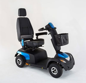 10kph 4 Wheel Mobility Scooter | Invacare Comet ALPINE +