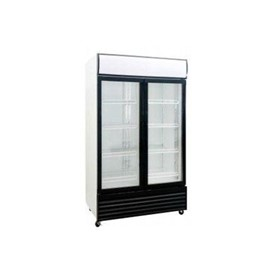 Double Glass Door Upright Fridge 1000Lt DFS1000