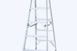 Aluminium Double Sided Step Ladder | INDALEX Pro Series
