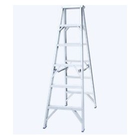 Aluminium Double Sided Step Ladder | Pro Series