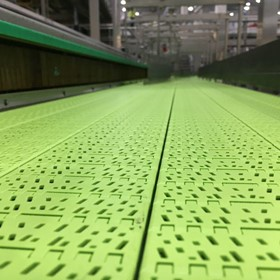 FlatTop Dry PT Conveyor Chain