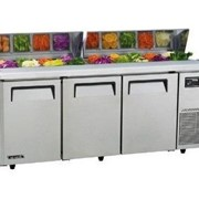 Turbo Air Salad Side Prep Table | Hood 1800 | KHR18-3