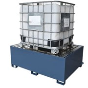 Drum / IBC Bund | Powder Coated Steel - Single IBC