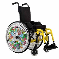 Invacare Action 3 Junior Pediatric Manual Wheelchair