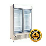 Huxford Double Glass Door Upright Fridge | HC1130