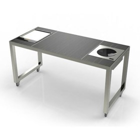 Live Mobile Cooking Tables | Cool Cube