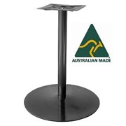 Australian Made Cafe Table Base | Coral Round Disk