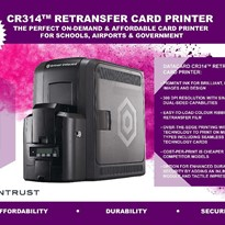 CR314 Affordable Retransfer Card Printer - 2021 Gift Card Promotion