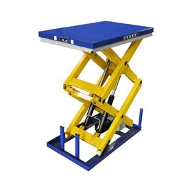 Double Scissor Electric Lift Table 1000kg - 4000kg