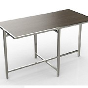 Mobile Buffet Table | Cross Cube Lock Top | Rectangle Table