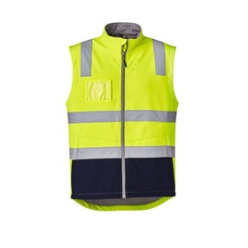Unisex Hi Vis Softshell Safety Vest