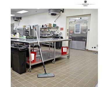 Release of solution mean cleaner floors faster, easier, and more effectively.