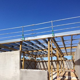 Commercial Temporary Edge Rail Protection for Height Safety