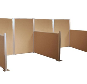 Modular Cubicle Partition System | HushPanel