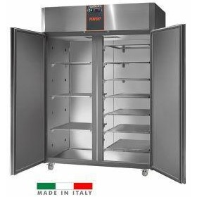Mastercool 1400 Litre Italian Made Upright Stainless Steel Freezer