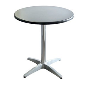 Round Aluminium Cafe Table | Astoria - Indoor/Outdoor