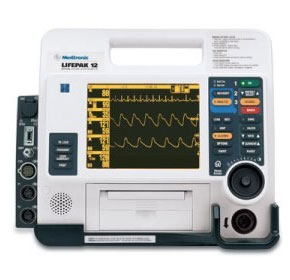 Used Defibrillator Monitor | Lifepak 12