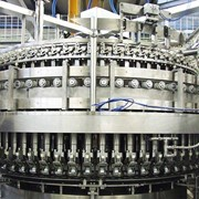 Rotary Piston Filler with Vertical Valves