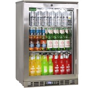 Rhino Stainless Steel 1 Heated Glass Door Bar Fridge|SG0L-HD