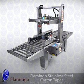 Flamingo Stainless Steel Carton Taper | EFBT-80SS