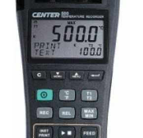 Center 500 Graphic temperature recorder