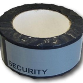 Blue Security Tape | Tamper Evident