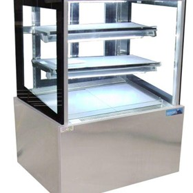 900mm Straight Glass Cake Display