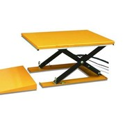 1T Electric Scissor Lift Table with ramp